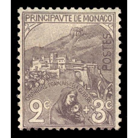 Monaco: Nr. 27-9 (s) ohne Scharnier.