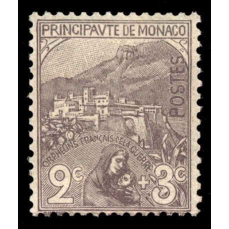 Timbre Monaco N° 27 neuf sans charnière