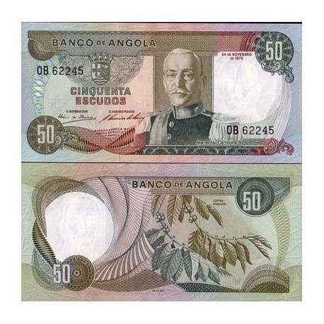Billets banque Angola Pk N° 100 - 50 Escudos