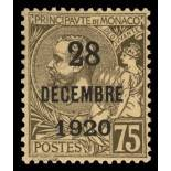 Timbre de collection de Monaco N° 49 neuf sans charnière