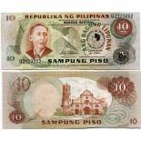 Billet de collection Philippines Pk N° 167 - 10 Pesos