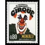 Timbre de collection de Monaco N° 1039 neuf sans charnière
