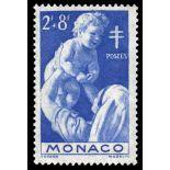 Sello de Mónaco N° 293 nueve sin bisagra