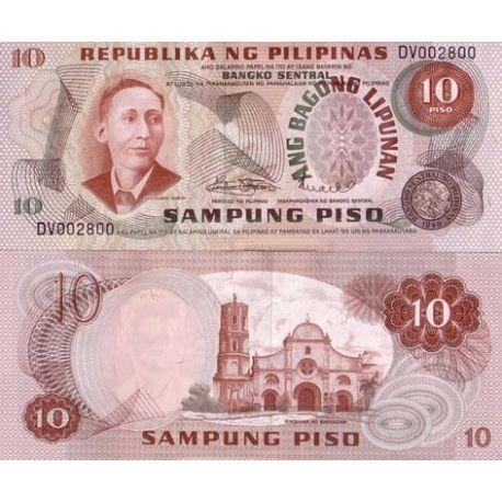 Billets de collection Billets de banque PHILIPPINES Pk N° 154 - 10 Pisos Billets des Philippines 3,00 €