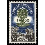 Timbre de collection de Monaco N° 523 neuf sans charnière