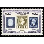 Timbre de collection de Monaco N° 525 neuf sans charnière