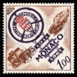 Timbre de collection de Monaco N° 555 neuf sans charnière