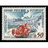 Timbre de collection de Monaco N° 609 neuf sans charnière