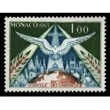Stamp collection of Monaco N° 610 nine without hinge