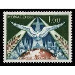 Timbre de collection de Monaco N° 610 neuf sans charnière