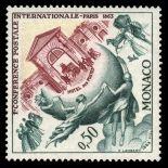 Timbre de collection de Monaco N° 615 neuf sans charnière
