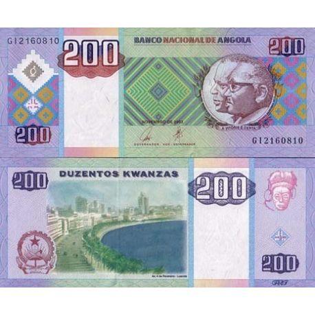 Billets collection Angola Pk N° 148 - 148 Kwanza