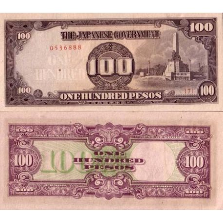 Billet de collection Philippines Pk N° 112 - 100 Pesos