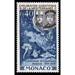 Timbre de collection de Monaco N° 805 neuf sans charnière