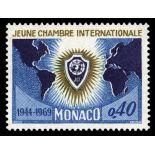 Timbre de collection de Monaco N° 808 neuf sans charnière