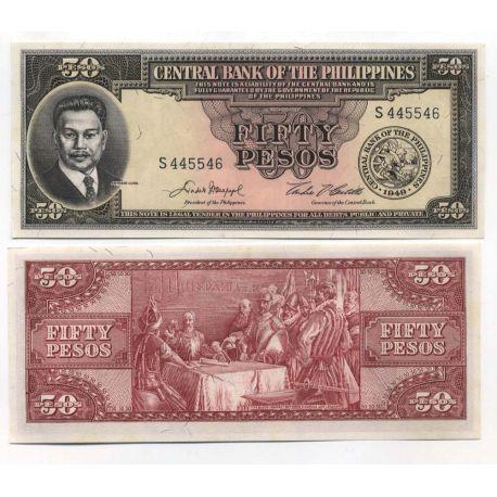 Philippines - Pk N° 138 - Billet de 50 Pesos