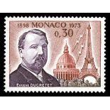 Timbre de collection de Monaco N° 921 neuf sans charnière