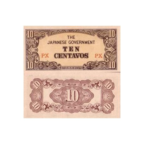 Billets de collection Billets de banque Philippines Pk N° 104 - 10 CENTAVOS Billets des Philippines 3,00 €
