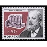 Stamp collection of Monaco N° 962 nine without hinge
