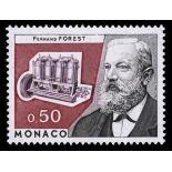 Timbre de collection de Monaco N° 962 neuf sans charnière