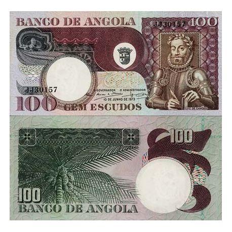 Billet de collection Angola Pk N° 106 - 100 Kwanzas