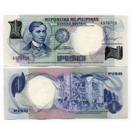 Billets banque Philippines Pk N° 142 - 1 Piso