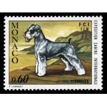 Stamp collection of Monaco N° 963 nine without hinge