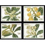 Francobollo di Monaco N° 1467/70 nove senza cerniera