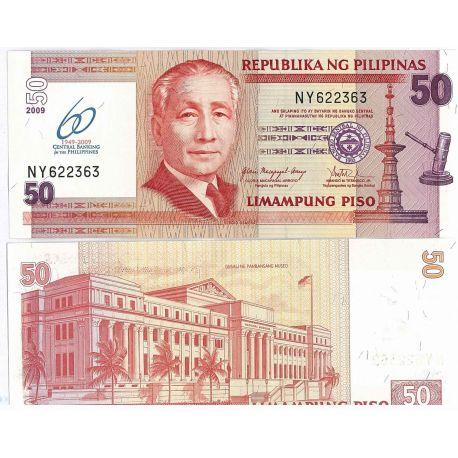 Billets de collection Billet de collection Philippines Pk N° 109 - 1 Pesos Billets des Philippines 2,00 €