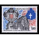 Francobollo di Monaco N° 1331 nove senza cerniera