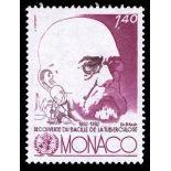 Francobollo di Monaco N° 1333 nove senza cerniera