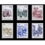 Timbre de collection de Monaco N° 1762/67 neuf sans charnière