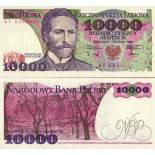 Billetes banco Polonia PK N° 151 - 10000 Zlotych