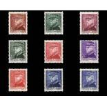 Stamp collection of Monaco N° 225/33 nine without hinge