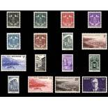Stamp collection of Monaco N° 249/64 nine without hinge