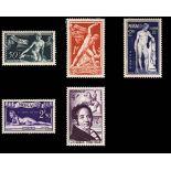 Timbre de collection de Monaco N° 314/18 neuf sans charnière