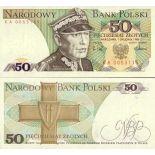 Banknote Polen Pk Nr. 142 - 50 Zlotych