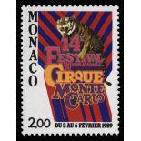 Timbre de collection de Monaco N° 1659 neuf sans charnière