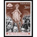 Francobollo di Monaco N° 1677 nove senza cerniera