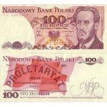 Billetes colección Polonia PK N° 143 - 100 Zlotych