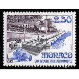 Timbre de collection de Monaco N° 1814 neuf sans charnière