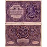 Billets banque Pologne Pk N° 29 - 1000 Marek