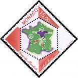 Timbre de collection de Monaco N° 2163 neuf sans charnière