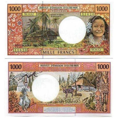 Französisch-Polynesien - Pk Nr. 2-1000 Franken banknote