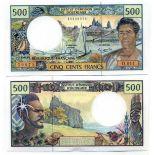 Polynesie - Pk N° 1 - Collection billet de 500 Francs