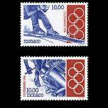 Timbre de collection de Monaco N° 1924/25 neuf sans charnière