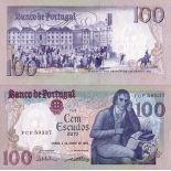 Billet de collection Portugal Pk N° 178 - 100 Escudos