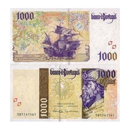 Portugal - Pk N° 188 - Billet de 1000 Escudos