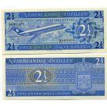 Sammlung von Banknoten Niederländische Antillen Pick Nummer 21 - 3 Gulden 1970