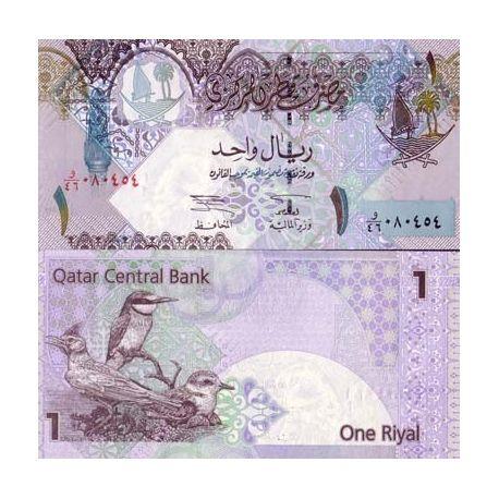 Billets banque QATAR Pk N° 20 - 1 Riyal